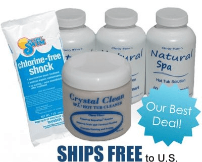 No Chlorine Natural Spa Start Up Kit for Hot Tubs