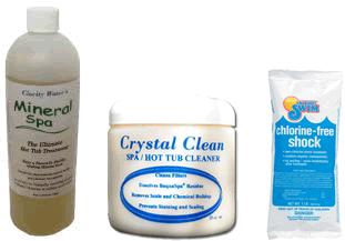 Mineral Spa Natural Hot Tub Startup Kit