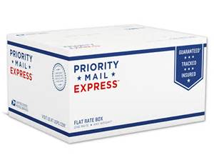 Flat Rate Shipping via USPS
