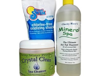 Mineral Spa Natural Hot Tub Water Treatment Conversion Kit
