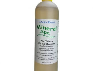 Mineral Spa Natural Mineral Hot Tub Additive Bottle Front