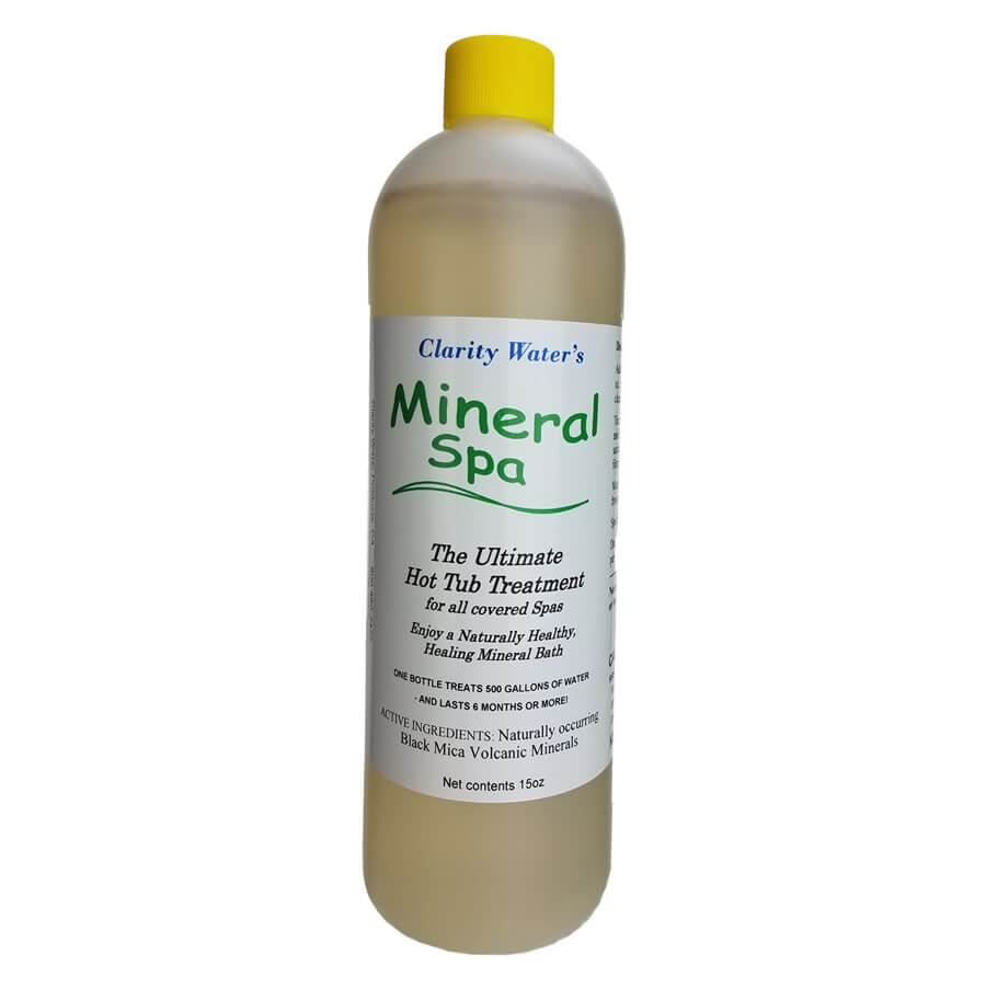 Mineral Spa Natural Mineral Hot Tub Additive Bottle Front