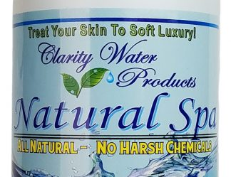 Chlorine Free Natural Hot Tub Water Treatment