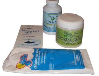 Natural Spa Non-Chlorine Hot Tub Starter Kit