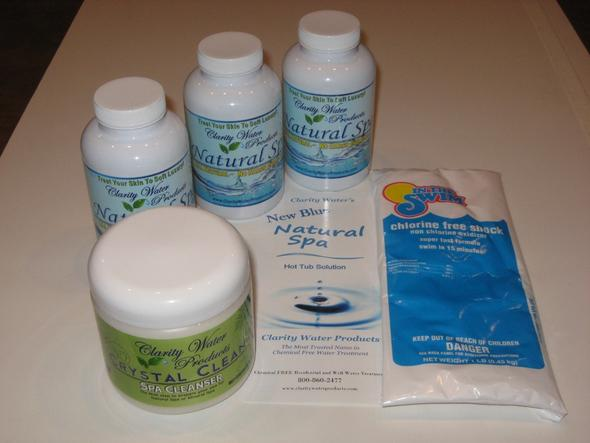 Chlorine Free Hot Tub Water Treatment Starter Kit